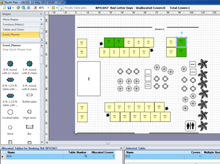 Dynamic specialist floor plan software for venues and events for Wedding venue software